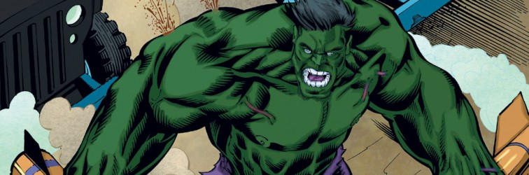 Green Hulk Color Sample Marvel Comics Full Render