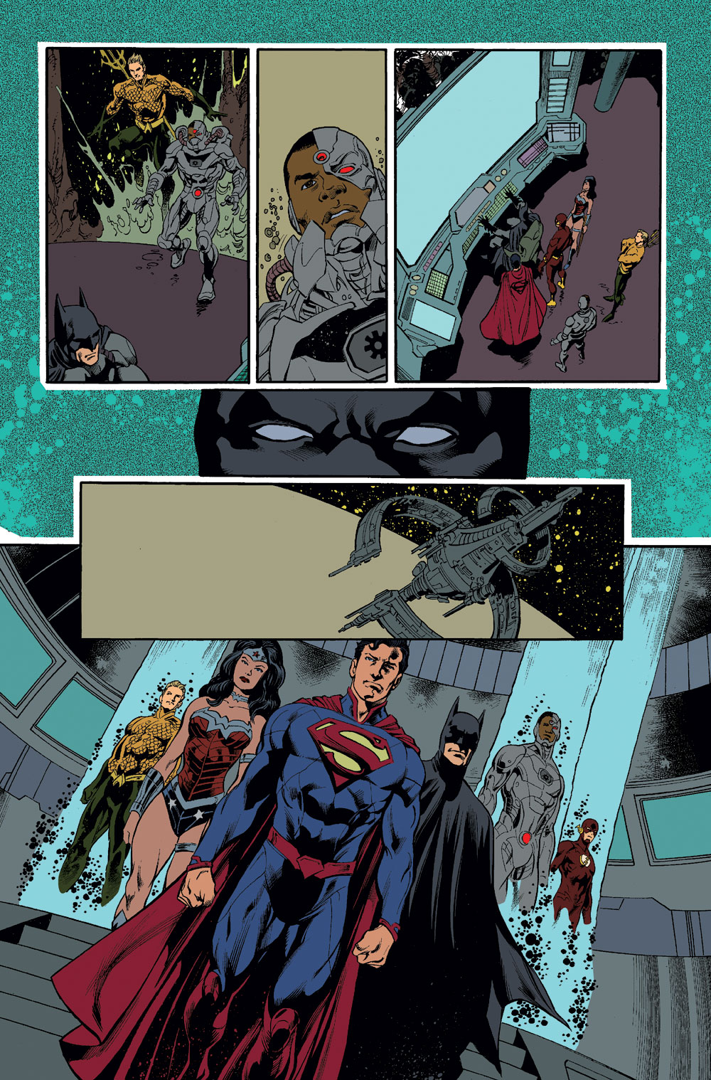 Justice League Issue 30 Forever Evil